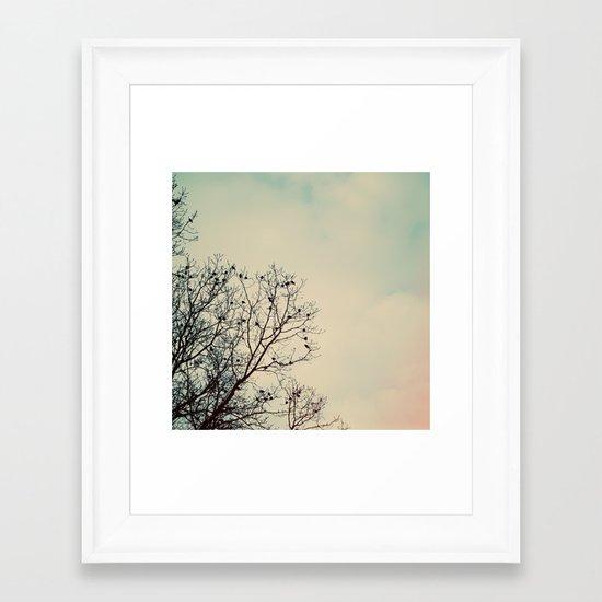 Nesting Framed Art Print