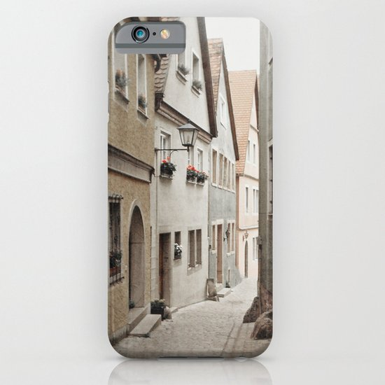Italian Alley - Muted Tones iPhone & iPod Case