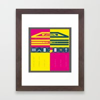 Project Mom and Dad  Framed Art Print