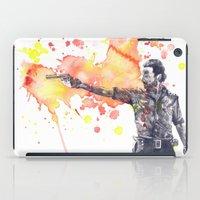 Portrait Of Rick Grimes … iPad Case