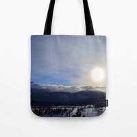 Rolling Clouds Over The … Tote Bag