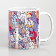 Space Toons In Color Mug
