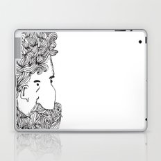 Bearded Man Laptop & iPad Skin