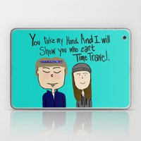 I will show you who can't time travel Laptop & iPad Skin