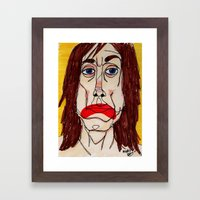 Iggy Pop Framed Art Print