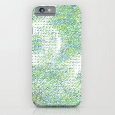 Peacock Feathers Doodle Slim Case iPhone 6s