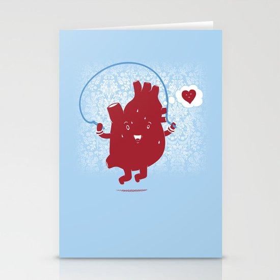 Cardio Ambition Stationery Card