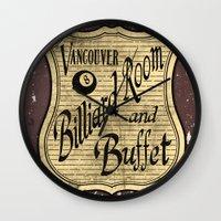 Vintage Vancouver Billia… Wall Clock