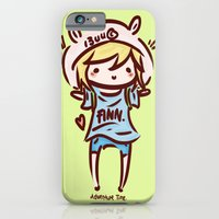 iPhone & iPod Case featuring Finn the Human by I3uu