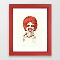 Dia De Los McMuertos Framed Art Print