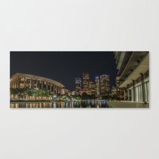 Drone Preflight over DT Canvas Print
