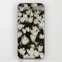 Field of white butterflies  iPhone & iPod Skin