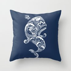 The White Whale  Throw Pillow