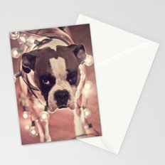 Will work for treats Stationery Cards
