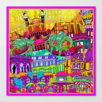 I Heart Paris Canvas Print