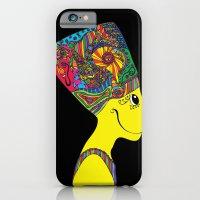 iPhone & iPod Case featuring The Brain of Nefertiti by Naná Monteiro