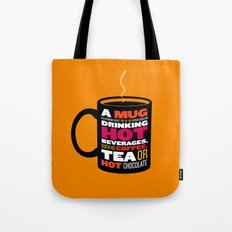 Mug - Wikipedia Illustrated Tote Bag