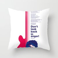 Noel Gallagher - Don't Look Back In Anger Throw Pillow