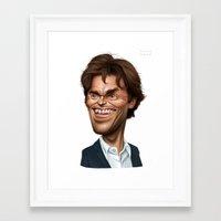Willem Dafoe Framed Art Print