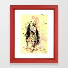 Bubble Gum Gangsters Framed Art Print