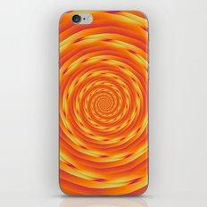 Orange Vortex iPhone & iPod Skin