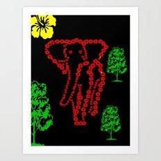 floral Art Print