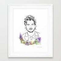 Louis Tomlinson Framed Art Print