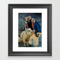 Hog Ride Framed Art Print