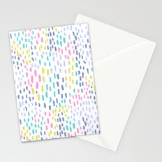 Rain in colors Stationery Cards