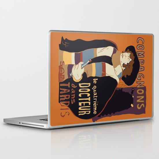 Le Fourth Doctor Laptop & iPad Skin