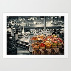 Eat Healthy !!! Art Print