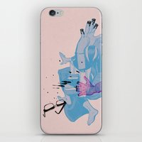 Nerd /// Fight iPhone & iPod Skin