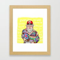 R STEVIE MOORE: YOLOFI Framed Art Print