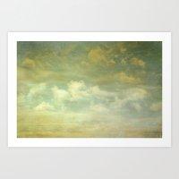 Margate Sky Art Print