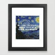 Starry Step Framed Art Print
