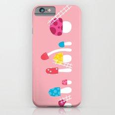 Mushroom Maintenance Pink Slim Case iPhone 6s