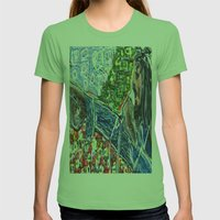 Legend Womens Fitted Tee Grass SMALL