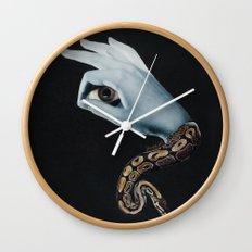 All seeing eye II. Wall Clock