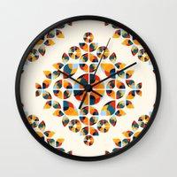 Fantasy Garden Pattern V Wall Clock