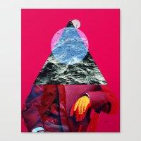 Der Alte Mann Und Das Me… Canvas Print