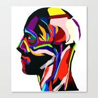 Canvas Print featuring Helliot by Ruben Marcus Luz Paschoarelli