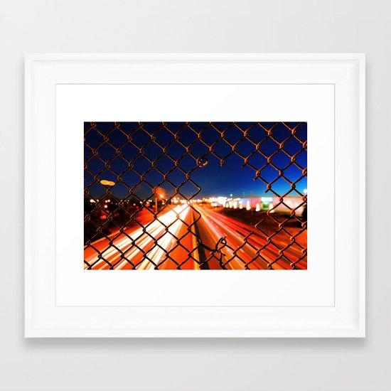Speed of Life Framed Art Print