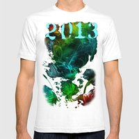 2013 Mens Fitted Tee White SMALL