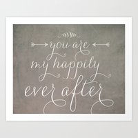 Happily Ever After Art Print