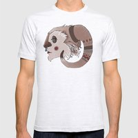 Decorative yeti Mens Fitted Tee Ash Grey SMALL