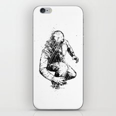 Trouble Will Find You, Always (Black/White Version) iPhone & iPod Skin