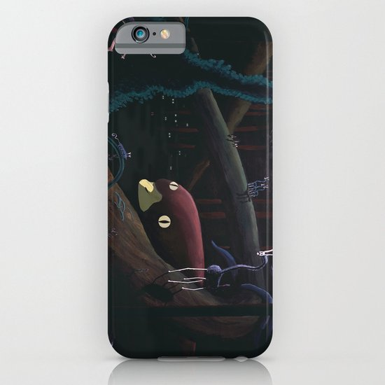 Monsters lurking in the forest iPhone & iPod Case