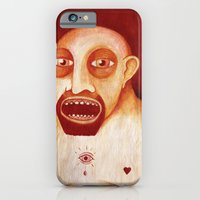 iPhone & iPod Case featuring Los tattoos del sombra by Juan Weiss