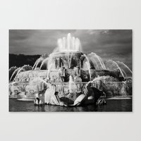 Chicago's Buckingham Fountain Canvas Print