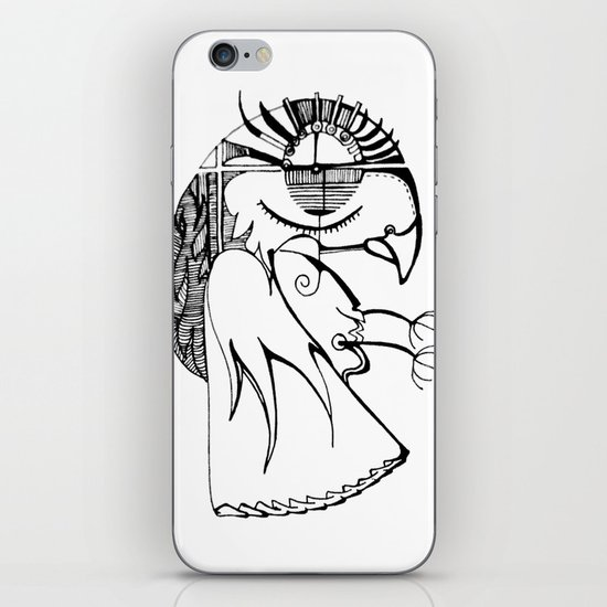 A kind of parrot iPhone & iPod Skin